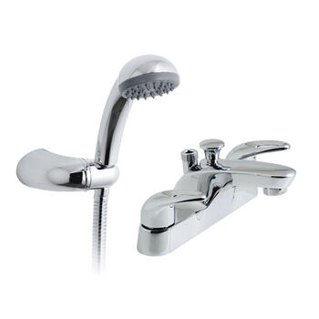 standard Bath Shower Mixer Taps lever Handle