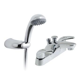 standard Bath Shower Mixer Taps lever Handle