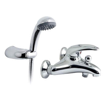 Magma Exposed Bath Shower Mixer Single Lever - 4843