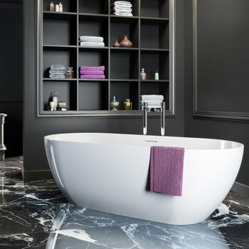 Formoso 1690 X 800 Nth Avangarde CollectIon Round Bath