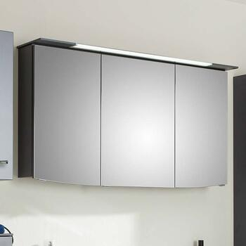 6001 Solitaire 1300mm Mirror Cabinet 3 Door