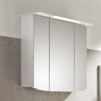 6001 Solitaire 750mm Mirror Cabinet 3 Door