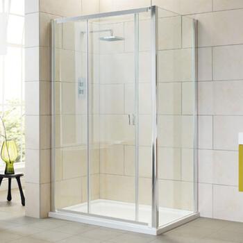 AQuadart ElatIon Sliding Shower  Door By Bathroom City - 782