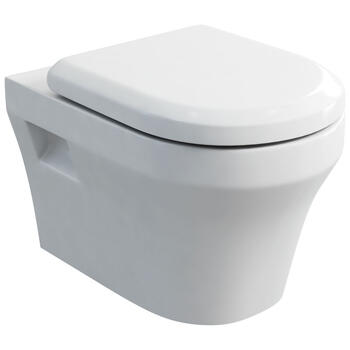 Fine Wall Hung Wc And Soft Close Seat - 8080