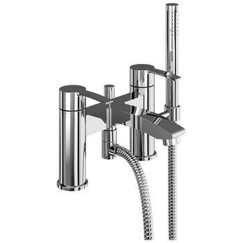 Modern standard bath mixer taps with shower head lever Handle