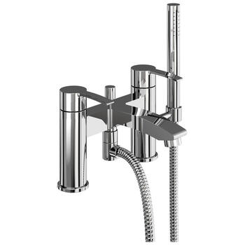 Modern standard bath mixer taps with shower head lever Handle