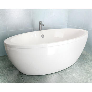 Freefuerte Designer and Luxury Round Bath including inner And Outer Skin