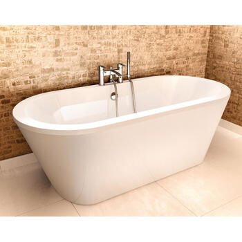 Freestark Designer and Luxury Round Bath Including inner And Outer Skin