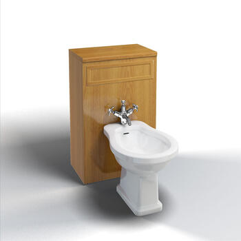 Traditional Bidet Unit Modern Back To Wall Toilet Unit