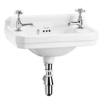 Edwardian Cloakroom Basin 51cm 2th - 8262