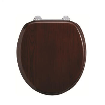 Mahogany Seat - Chrome Soft Close - 8277