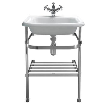 Natural Stone Small Traditional Basin With Wash StAnd - 8301