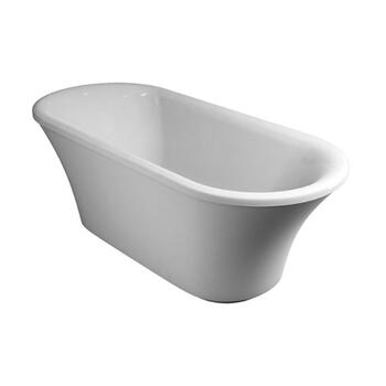 Brindley Freestanding Soaking Round Luxury Bathtub