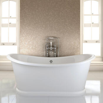 Admiral Boat Freestanding Bath - 8312