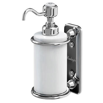 Single Soap Dispenser Contemporary Bathroom