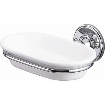 Soap Dish Chrome Luxurious Bathroom Accessory
