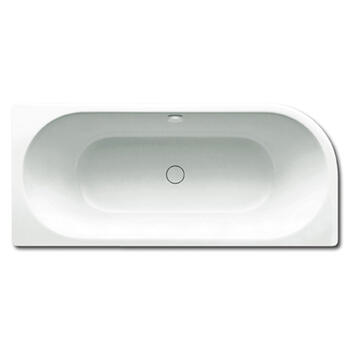 Steel Centro Duo 1 Corner Left Bath Double Ended