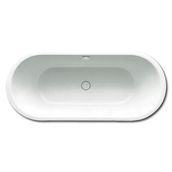 Centro Duo Oval Steel Bath Double Ended