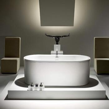Kaldewei Centro Duo Oval Steel Bath Room Scene