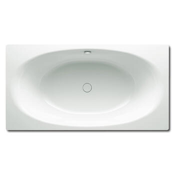 Ellipso Duo Steel Bath Double Ended