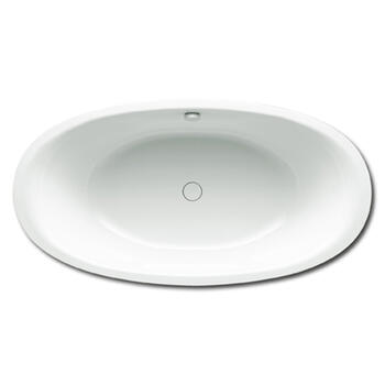 Ellipso Duo Oval Steel Bath Double Ended