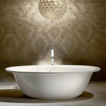 Ellipso Duo Oval Steel Bath Room View