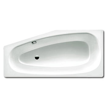 Steel Bath Mini Right Bath by Kaldewei Double Ended