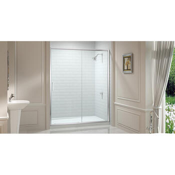 Merlyn 8 Series 1600 Sliding Door Shower Enclosure Luxurious Bathroom Accessory