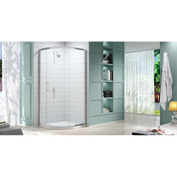 Merlyn 8 Series 900 1 Door Quadrant Shower Enclosure Fashionable Bathroom