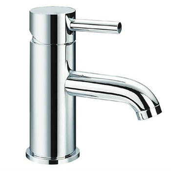 Modern deluxe SILVER standard 3 Hole Basin Mixer Taps With a lever Handle