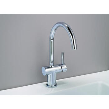 Modern quality SILVER standard 3 Hole Basin Mixer Taps With a lever Handle