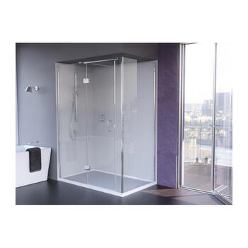 Ic1280 IllusIon Corner Hinged Shower Enclosure for Designer Bathroom