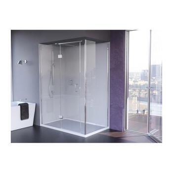 Ic1580 IllusIon Corner Hinged Shower Enclosure for Fashionable Bathroom