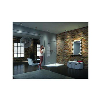 Matki 3 Sided Shower Cucbile Iqt1080 Gg  IllusIon Quintesse With Tray - 9003