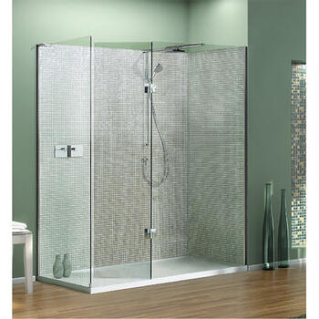 NWSR1580TB Contemporary Boutique Walk In Shower Enclosure for Stylish Bathroom