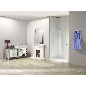 NWST1590TB Eye Catching Boutique 3 Sided Walk In Shower Enclosure for Elegant Bathroom