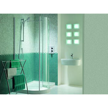 WIC1200 Contemporary Design Original Walk In Curved Shower Enclosure