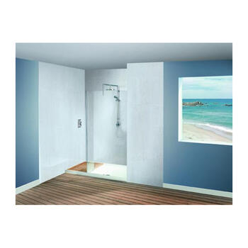 WSR1790 Elegant and Stylish Walk-In Frame-less Recess Shower Enclosure for Modern Bathroom
