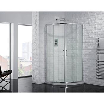 AQuadart Venturi 6 Double Door Quadrant Enclosure Modern Bathroom