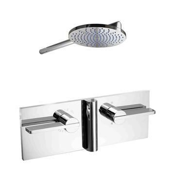 Ex28 Elixir Bathroom Shower Range Round Head