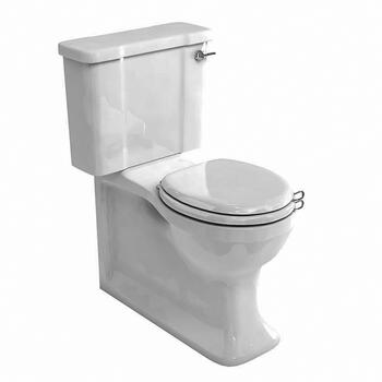 Arcade  Full Back-to-Wall Close-Coupled Pan And Seat - 9961