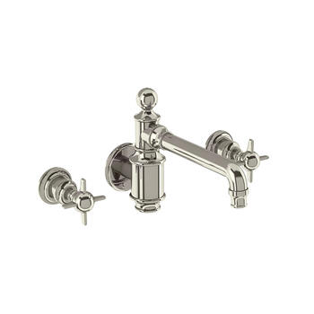 Arcade  3 Hole Basin Mixer Taps Wall-Mounted - 9977