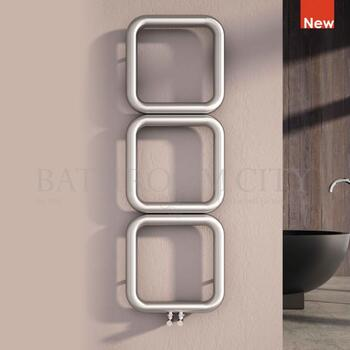 Baro Stainless Steel designer bathroom radiator - 178435