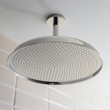 Belgravia 18 inch Shower Rose Chrome, Round Head
