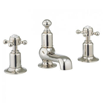 deluxe spout Twin Basin Taps (Pairs of taps) With a lever Handle