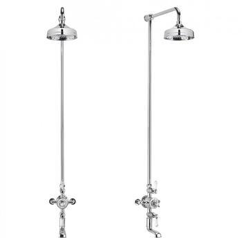 Belgravia Exposed Thermostatic Bathroom Shower 8