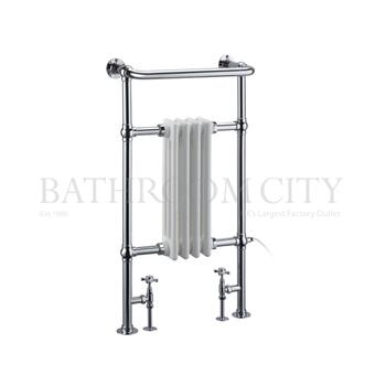 Bloomsbury - Chrome Towel Rail Bathroom Radiator
