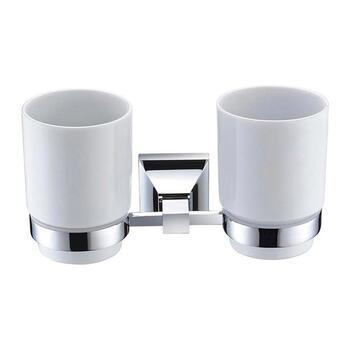 Chancery Double Tumbler & Holder Unique Design Bathroom Accessory
