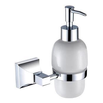 Chancery Soap Dispenser Chrome Designer Bathroom