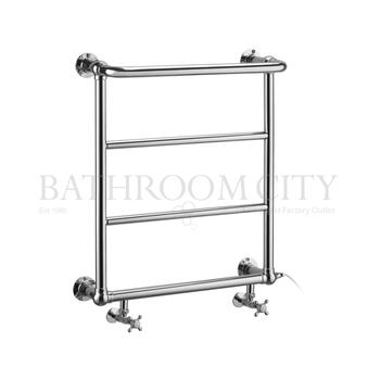 Cleaver - Chrome Towel Rail Bathroom Radiator